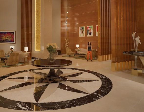 Hotel Entrance Dubai